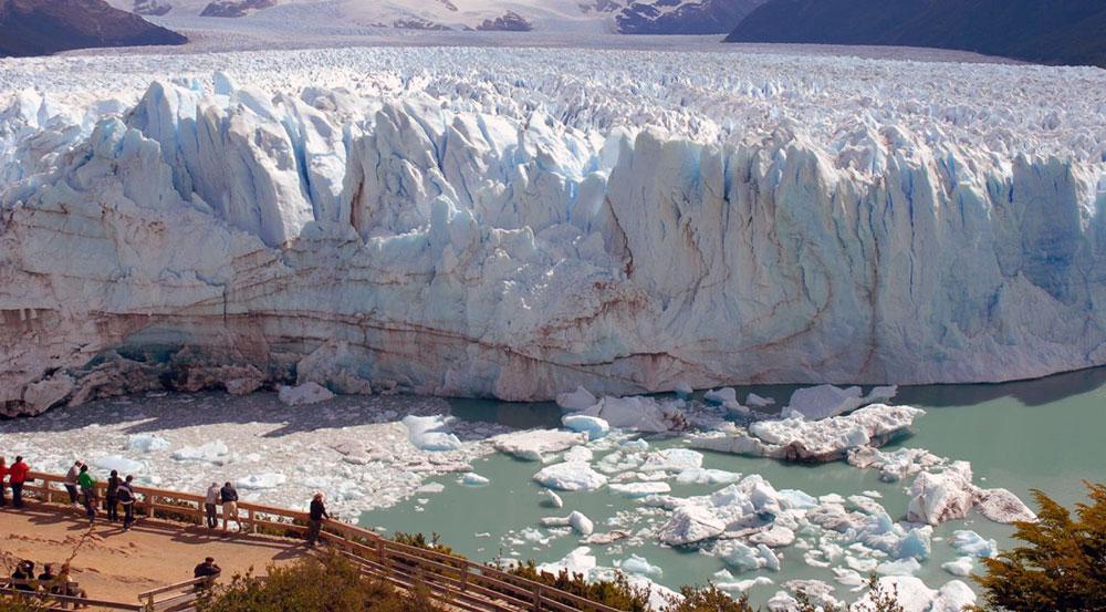 Tour Glaciar Perito Moreno pasarelas vista