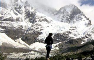 Picos del Paine nevado