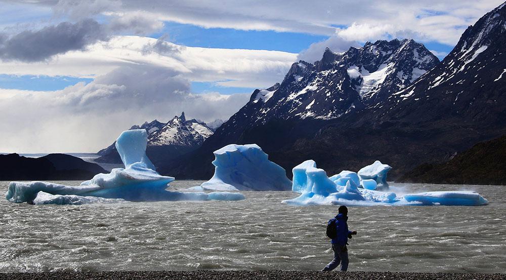 glaciar grey tour a torres del paine